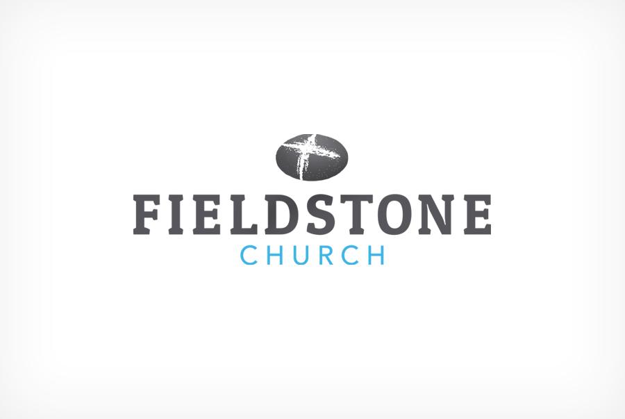 Fieldstone Church logo Christian church brand identity