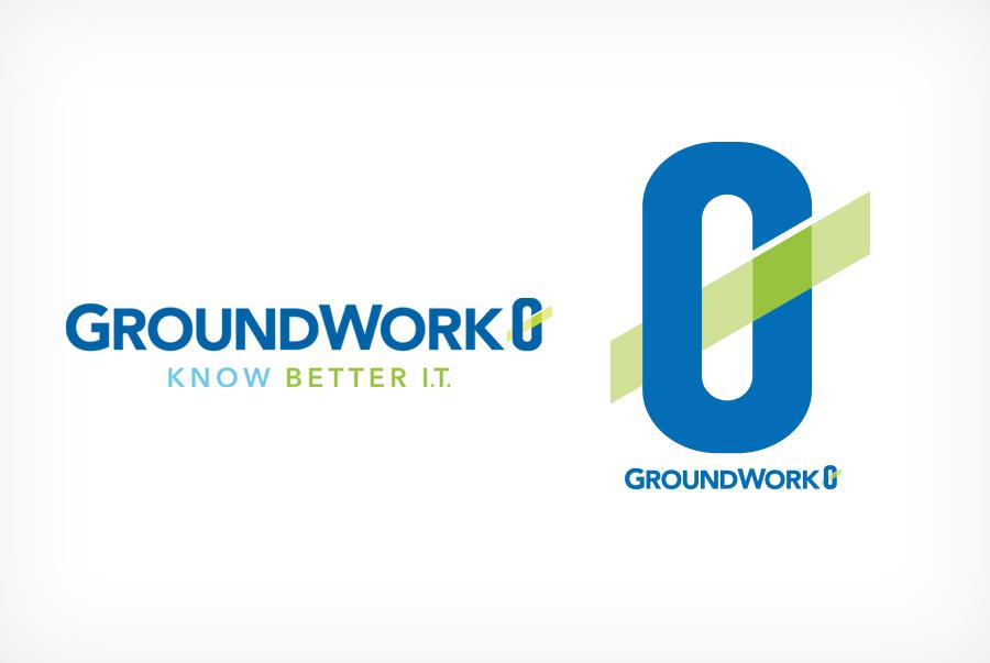 technology company logo brand identity IT logo design