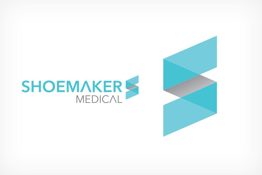 Shoemaker Medical Illustration logo design Medical Logo Design