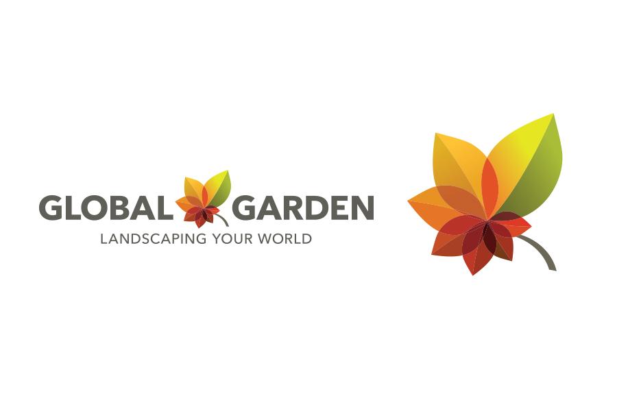 landscaping company logo, brand identity, branding