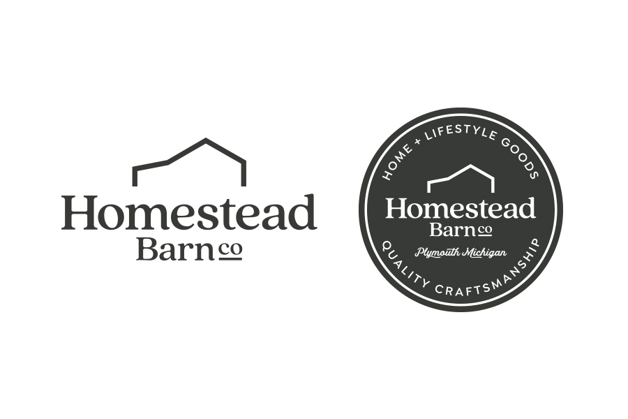home goods logo, pottery barn logo design, branding home store, brand identity