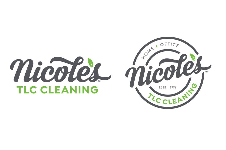 Cleaning company logo design, branding, brand design, small business logo design