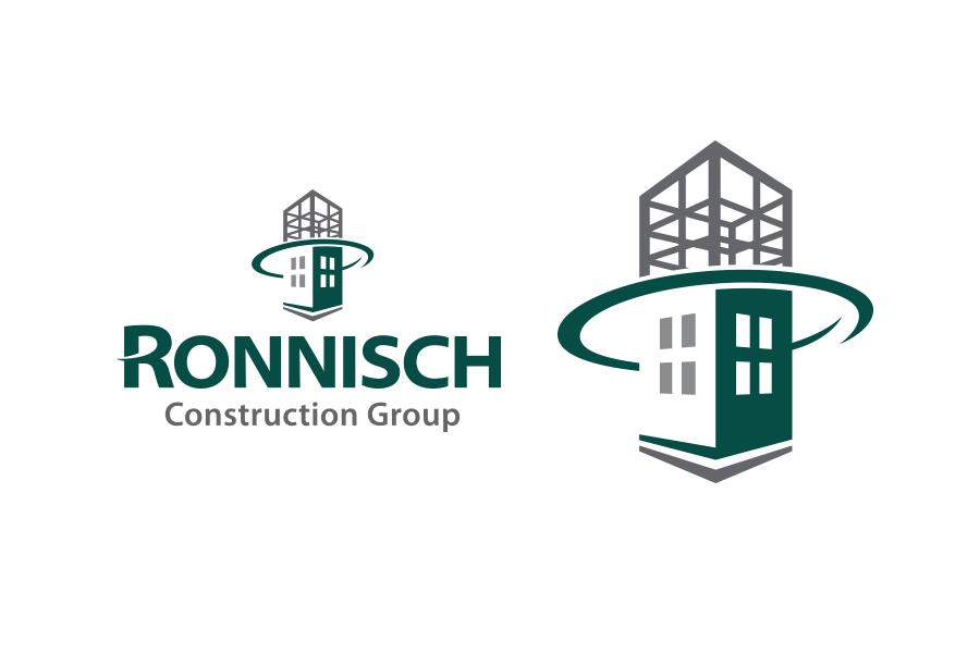 construction company logo design, branding construction company